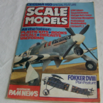 Scale Models March 1981 Fokker DVIII Plan Feature Magazine